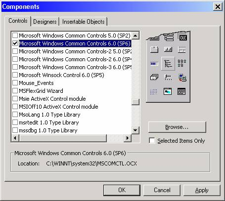 Toolbars can be used to complement menus in a program