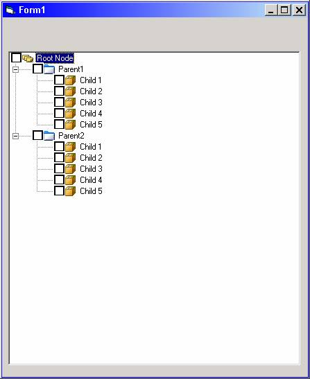 TreeView Sample Applications