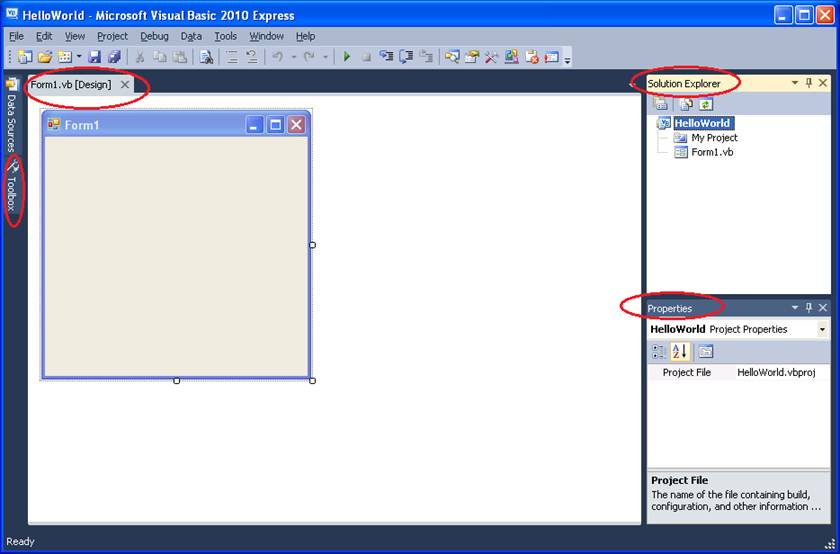 Exploring the IDE